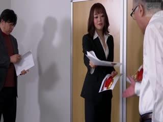 NSPS-852転職・再雇用先の年下女上司浜崎真緒第01集